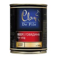 Clan,De File, влажный корм д/собак (говядина)