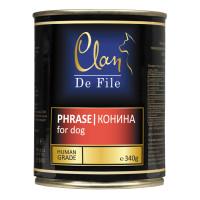 Clan,De File, влажный корм д/собак (конина)