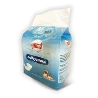 Cliny, подгузники для собак и кошек M 5-10 кг. (9 шт.)