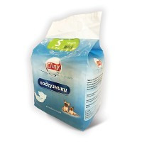 Cliny, подгузники для собак и кошек S 3-6 кг. (10 шт.)