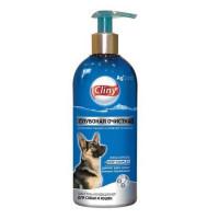 Cliny шампунь-кондиционер, глубокая очистка  для собак и кошек 300 мл
