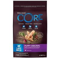 Core, Puppy корм д/щенков крупных пород (курица)