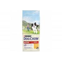 Dog Chow, Active, корм д/активных собак всех пород (курица)