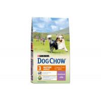 Dog Chow, Mature 5+, корм д/собак старше 5 лет (ягненок)