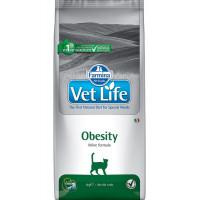 Farmina, Vet Life, Obesity, корм д/кошек (при ожирении)