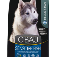 Farmina, Cibau, Sens Adult, корм д/собак (рыба)