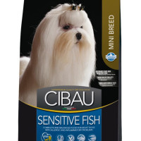 Farmina, Cibau, Sens Mini Adult, корм д/собак (рыба)