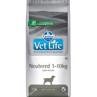 Farmina, Vet Life, Neutered 1-10 кг, корм д/собак (стерилизованные)