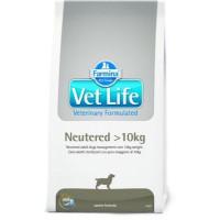 Farmina, Vet Life, Neutered более 10 кг, корм д/собак (стерилизованные)