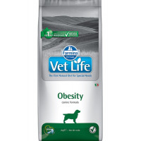 Farmina, Vet Life, Obesity, корм д/собак (при ожирении)