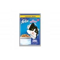 Felix, влажный корм д/котят (курица в желе)