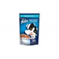 Felix, влажный корм д/кошек (форель в желе)
