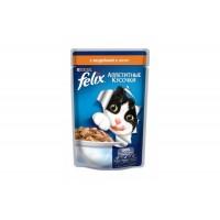 Felix, влажный корм д/кошек (индейка в желе)