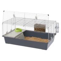 Ferplast, Rabbit 100, цветная, клетка для кроликов и морских свинок (95х57х46 см.)
