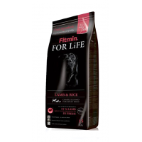 Fitmin, For Life, корм д/собак всех пород (ягненок/рис)