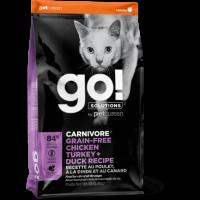 GO!, Carnivore GF, корм д/кошек и котят (4 мяса)