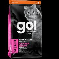 GO!, Skin+Coat, корм д/кошек и котят (курица/фрукты)