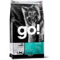GO!, Fit+Free, корм д/собак и щенков (4 мяса)