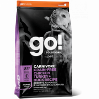 GO!, Fit+Free, корм д/пожилых собак (4 мяса)
