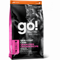 GO!, Skin+Coat, корм д/собак и щенков (цельная курица)