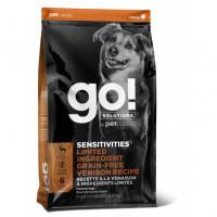 GO!, Sensitivities, корм д/собак и щенков (оленина)