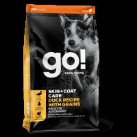 GO!, Skin+Coat, корм д/собак и щенков (утка/овсянка)