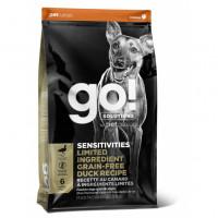 GO!, Sensitivities, корм д/собак и щенков (утка)