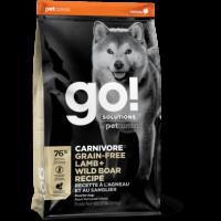 GO!, Carnivore GF, корм д/собак (ягненок/кабан)