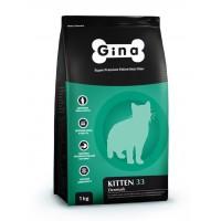 Gina, Kitten 33, корм д/котят (курица/ягненок)