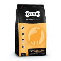 Gina, Cat, корм д/кошек (кролик)