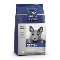 Gina, Elite, корм д/кошек (курица)
