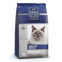 Gina, Elite, корм д/кошек с чувств. пищеварением (индейка)