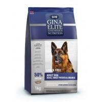 Gina, Elite, корм д/собак всех пород (утка/картофель/апельсин)