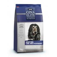 Gina, Elite, корм д/собак всех пород (ягненок/картофель/мята)