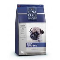 Gina, Elite, корм д/щенков всех пород (индейка/рис)