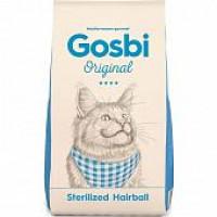Gosbi, Original, Sterilized&Hairball, корм д/кошек (курица/рис)