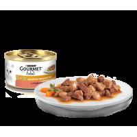 Gourmet, Gold, влажный корм д/кошек в соусе (утка/индейка)