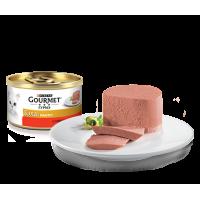 Gourmet, Gold, влажный корм д/кошек паштет (говядина)