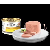 Gourmet, Gold, влажный корм д/кошек паштет (курица)