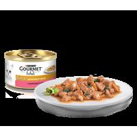 Gourmet, Gold, влажный корм д/кошек в соусе (форель/овощи)
