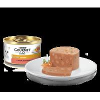 Gourmet, Gold, влажный корм д/кошек террин (утка/морковь)