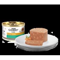Gourmet, Gold, влажный корм д/кошек террин (кролик)