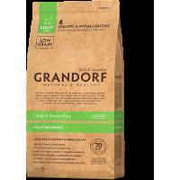 Grandorf, Mini, сухой корм д/собак мелких пород (ягненок/рис)