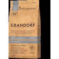 Grandorf, Adult, сухой корм д/собак всех пород (кролик/батат)