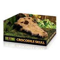 Hagen, Exo-Terra, Crocodile Skull, декорация-укрытие д/террариума