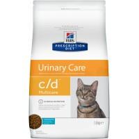 Hill's, PD, C/D, корм д/кошек лечение и проф. МКБ (рыба)