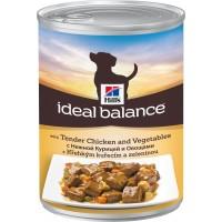 Hill's, IB, Adult, влажный корм д/собак (курица/овощи)