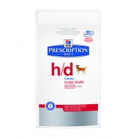 Hill's, PD, H/D, корм д/собак при болезнях сердца