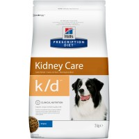 Hill's, PD, K/D, корм д/собак при заболеваниях почек