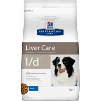 Hill's, PD, L/D, корм д/собак при заболеваниях печени
